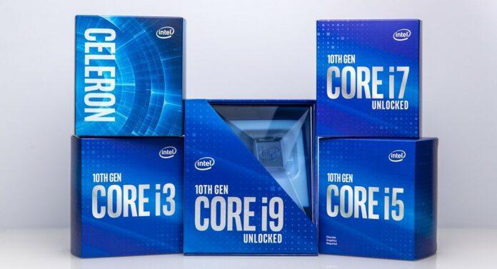 Премьера процессоров Intel Core Comet Lake-S 10-го поколения