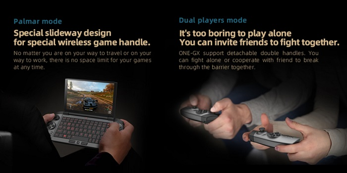 Скоро представят «карманный» геймерский ноут One GX