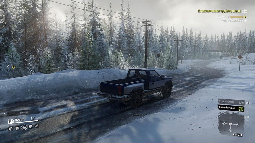 Обзор SnowRunner — Самый медленный автосимулятор