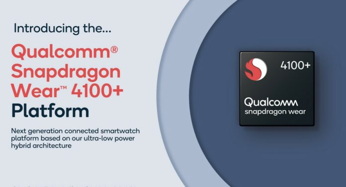 Introducing Qualcomm Snapdragon Wear 4100+