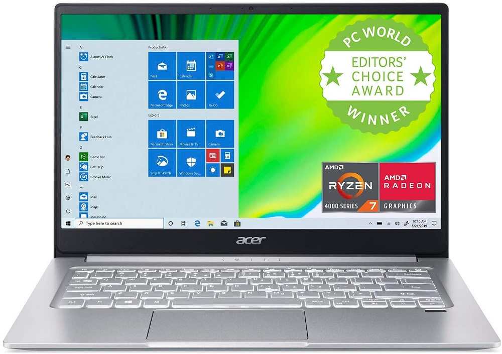 Acer Swift 3 with Ryzen 5 4500U