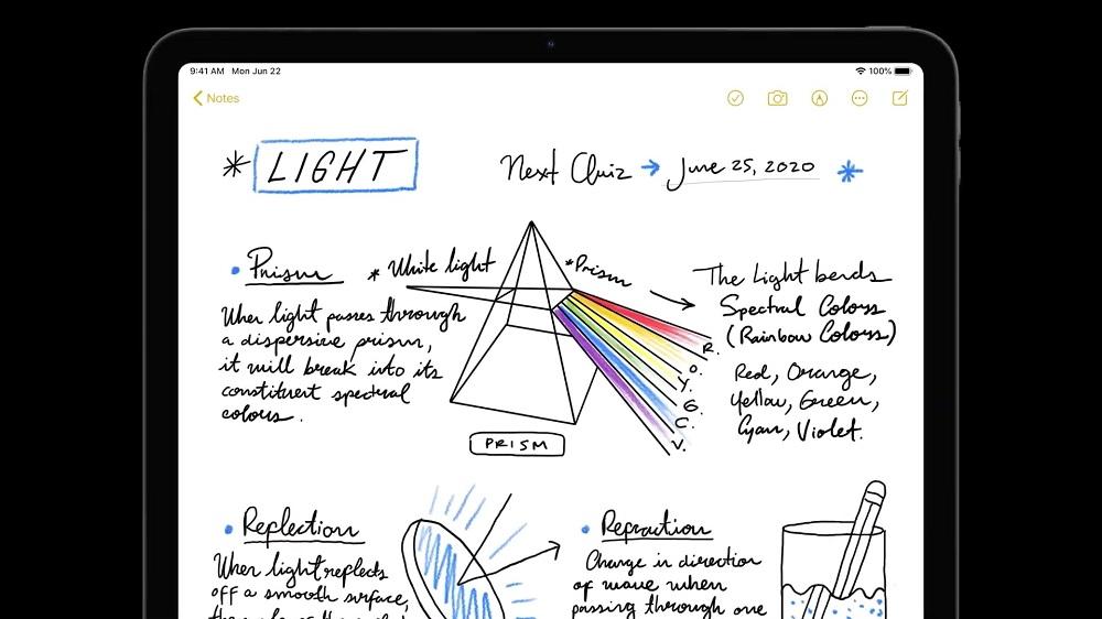 iPadOS Scribble