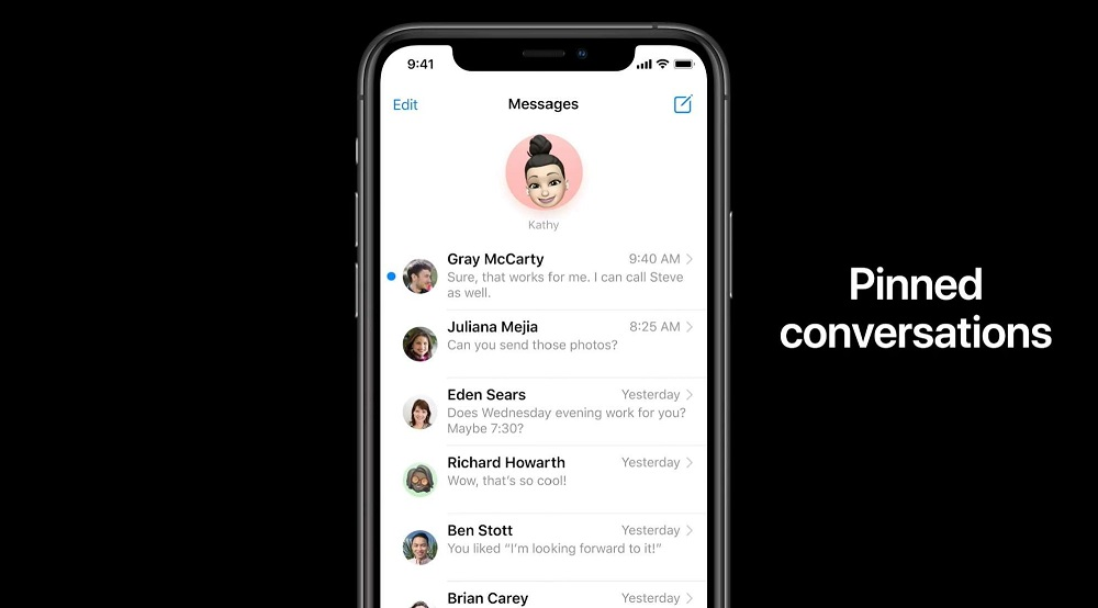 Apple WWDC 2020- iMessenger