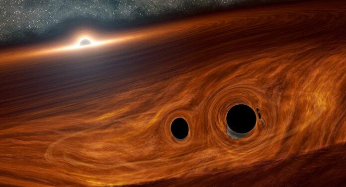 Злиття чорних дір породило рідкісний феномен