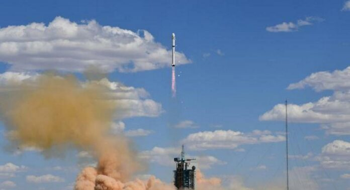 China satellite
