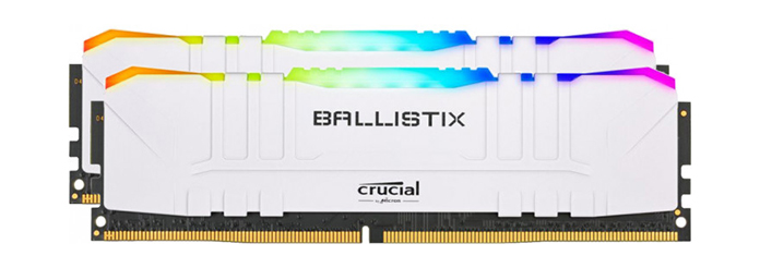 Crucial Ballistix RGB White 2x16 GB 3200