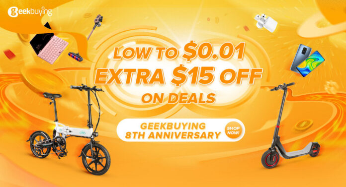 Geekbuying 8th Anniversary