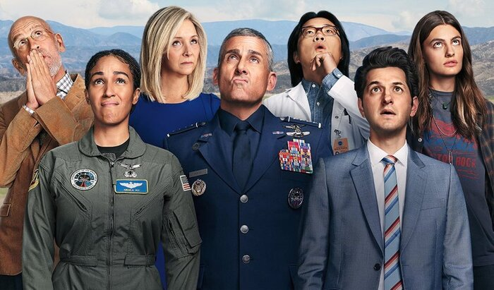 space force netflix