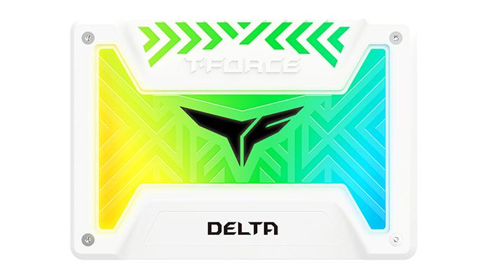 Team Delta R White RGB SATA3 SSD 1TB