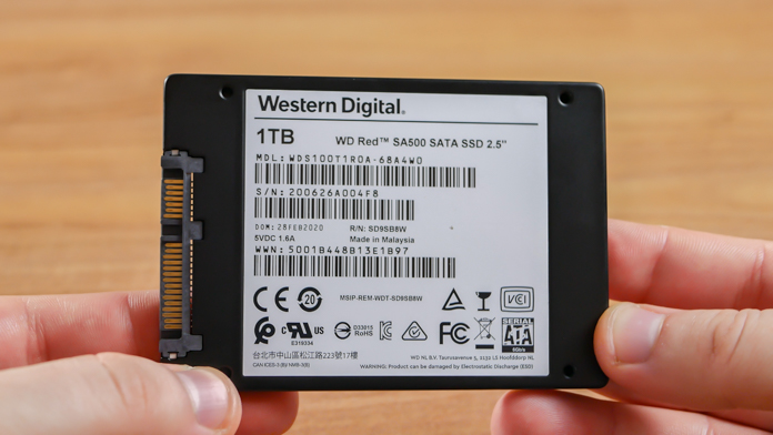 WD Red SA500 1TB 2.5