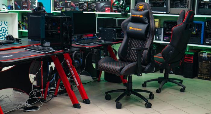 Обзор геймерского кресла Cougar Armor PRO