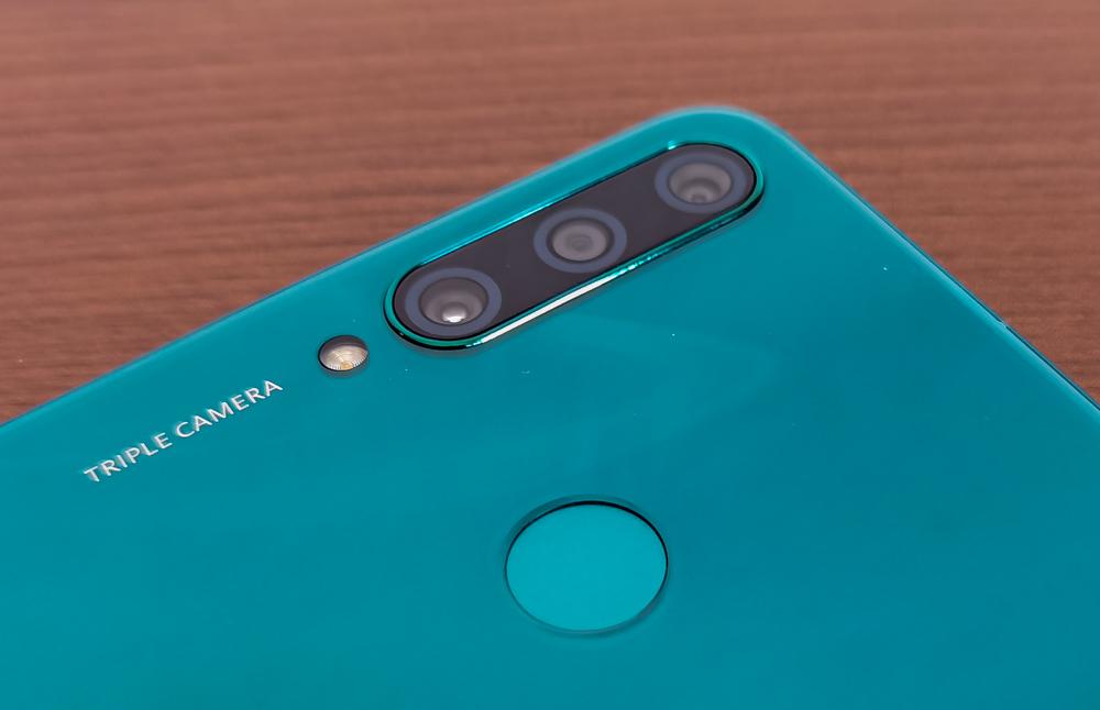 Huawei Y6p cameras