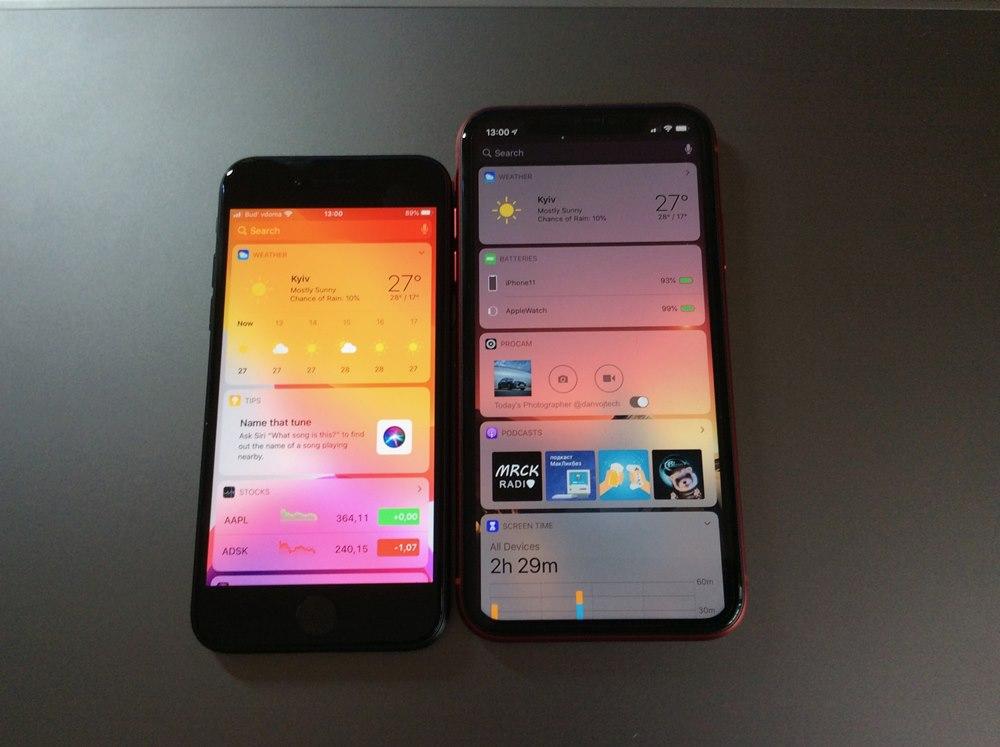 Apple iPhone SE (2020) vs iPhone 11
