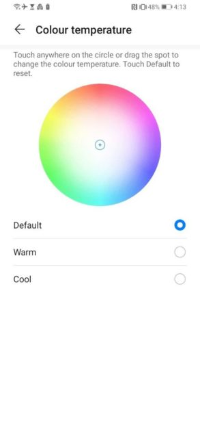 Display Setting Huawei Y6p