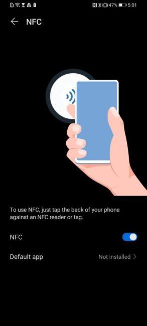 Huawei Y6p - NFC