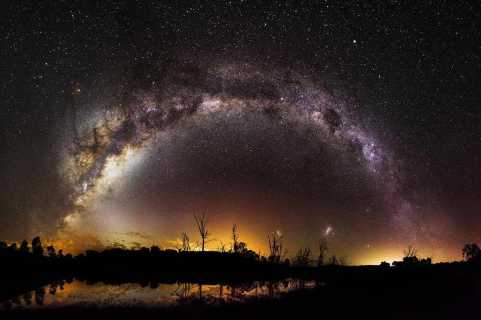 Milky Way/ Млечный путь фото с Земли