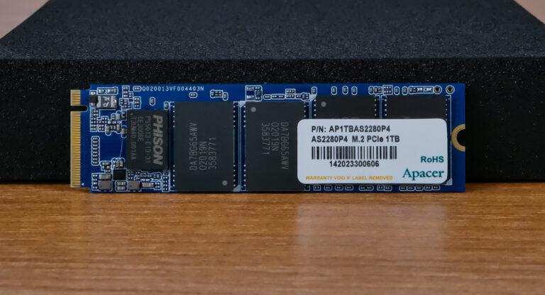 Обзор SSD M.2 накопителя Apacer AS2280P4 1TB