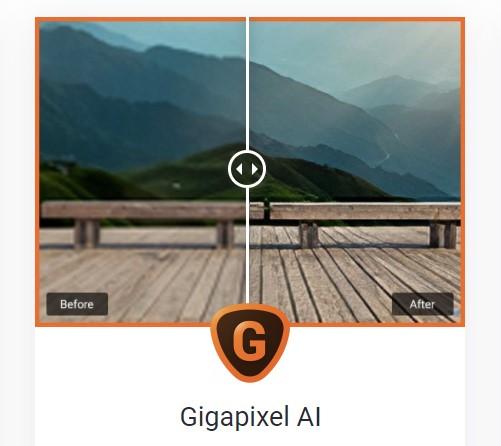 Topaz Labs Gigapixel AI