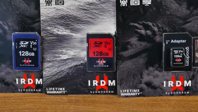 IRDM PRO V30 і V60 SD і microSD