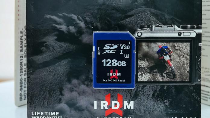 IRDM PRO SD microSD