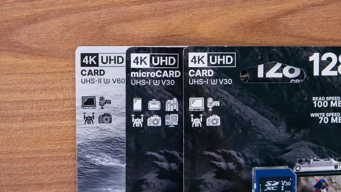 Тестування IRDM PRO V30 і V60 SD і microSD