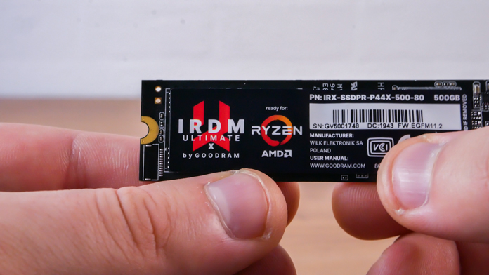 IRDM Ultimate X 500GB