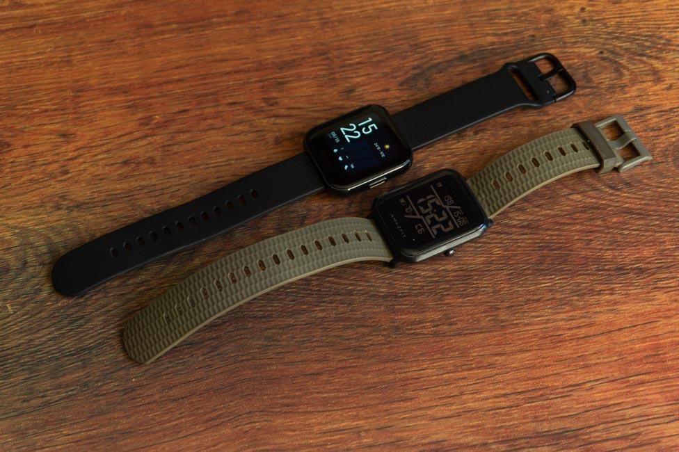 Amazfit Bip vs Realme Watch