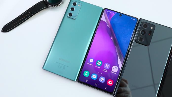 Samsung Galaxy Note20 и Note20 Ultra