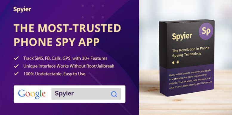 Spyier – The Phone Tracking Guru