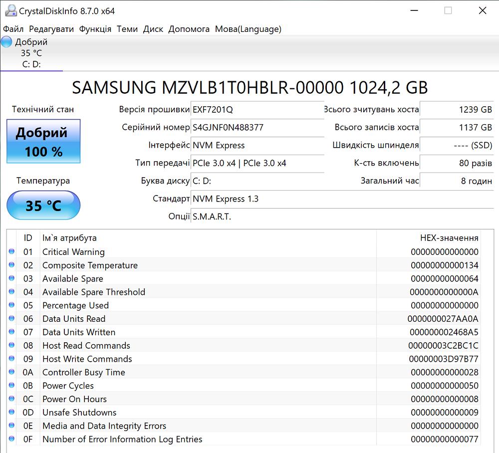 Huawei MateBook X Pro 2020 SSD