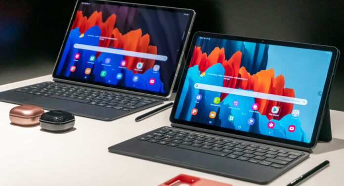 tab s7 and tab s7 plus