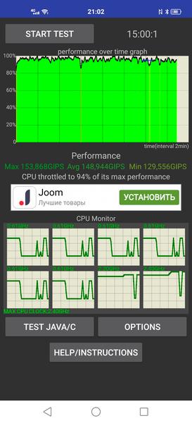 Vivo X50 Pro Trottling Tests