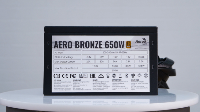 Aerocool Bronze 650W