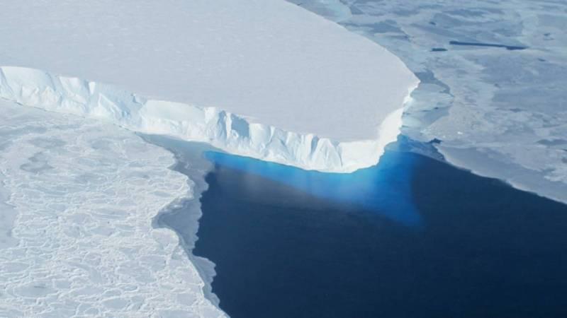 antarctic glacier nasa