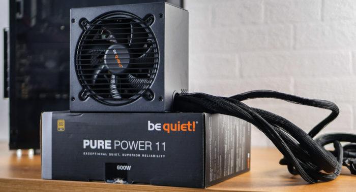 Обзор блока питания be quiet! Pure Power 11 600W