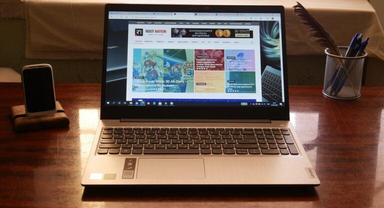 Обзор Lenovo Ideapad 3i (15IML05) – недорогой ноутбук для дома и офиса