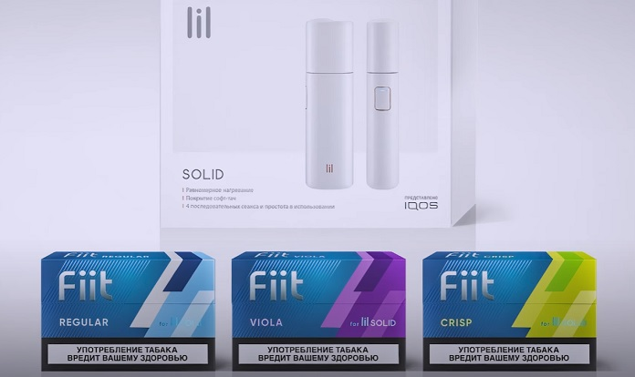 lil Solid introduced by IQOS