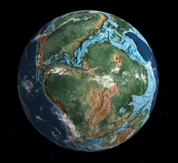 Earth online interactive map