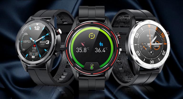 Скидки на стильные и функциональные умные часы Fobase на AliExpress