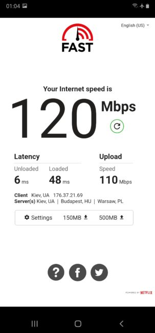 TP-Link Archer T2U Nano Speed Test