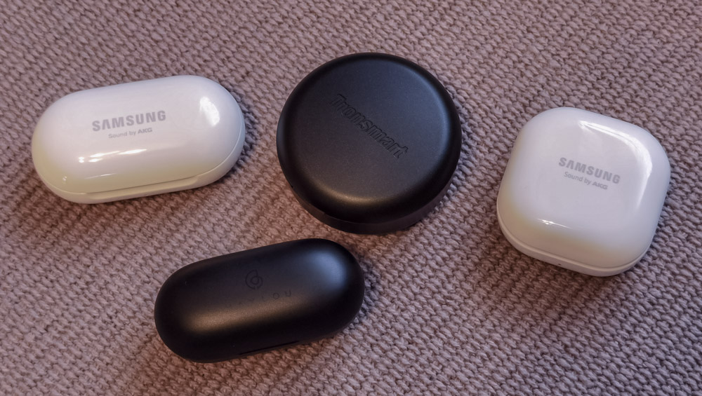 Tronsmart Apollo Bold vs Galaxy Buds+ vs Galaxy Buds Live vs Haylou GT1 Plus
