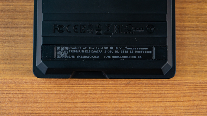 WD Black P10 4TB