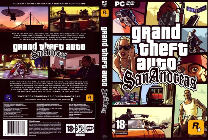 Прохождение Grand Theft Auto: San Andreas