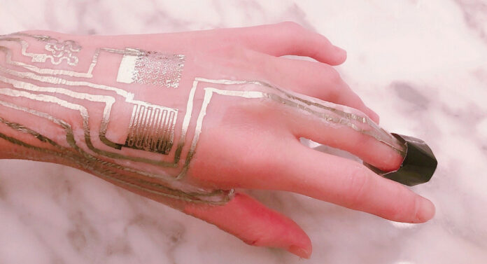 сенсори на шкірі