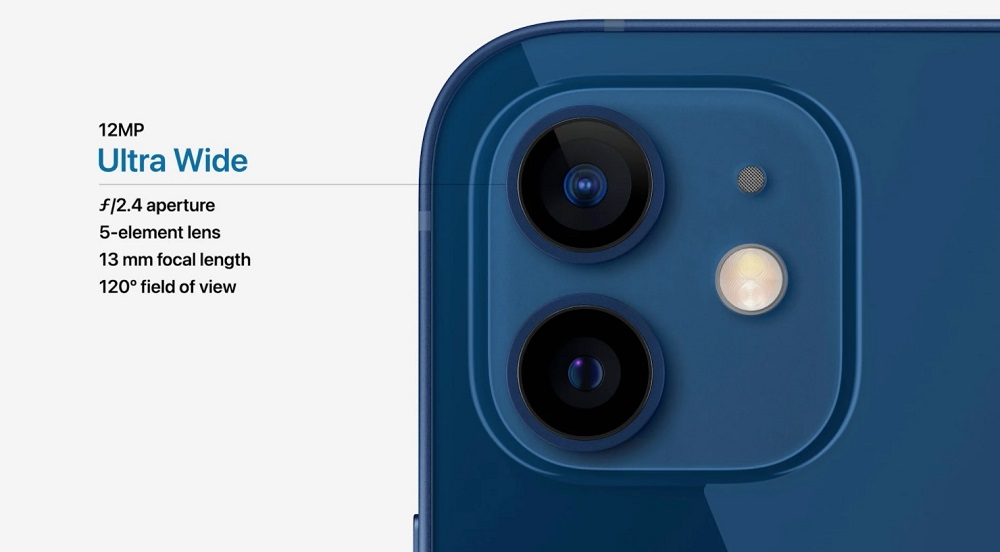 iPhone 12 Ultrawide Camera