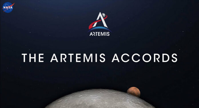 Artemis Accords logo