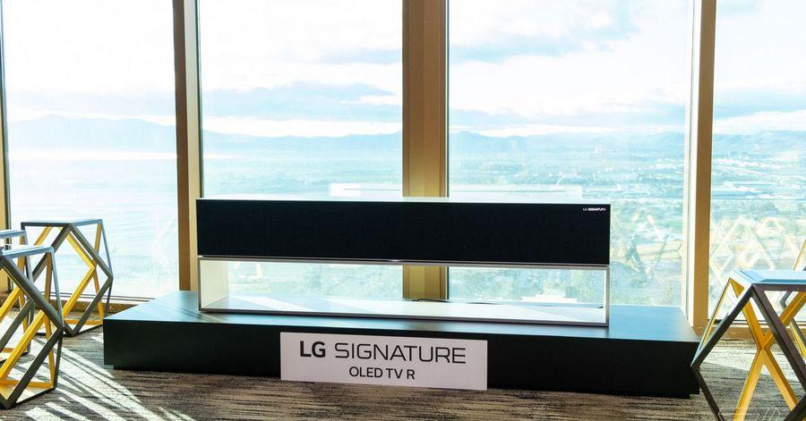 LG Signature OLED R