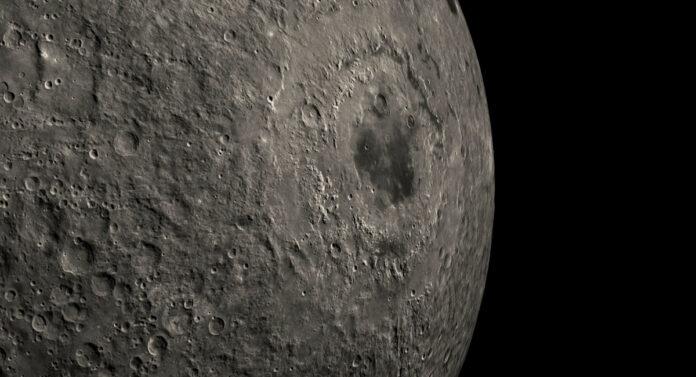 Mare Orientale on the Moon