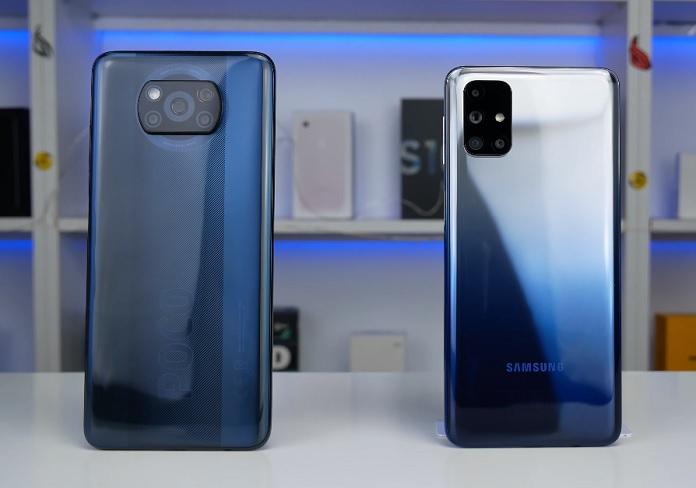 Xiaomi Poco X3 vs Samsung Galaxy M31s