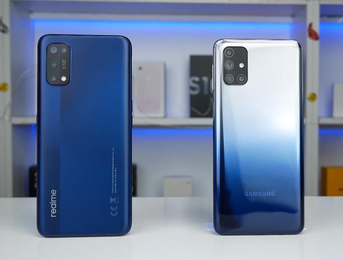 Samsung Galaxy M31s vs Realme 7 Pro